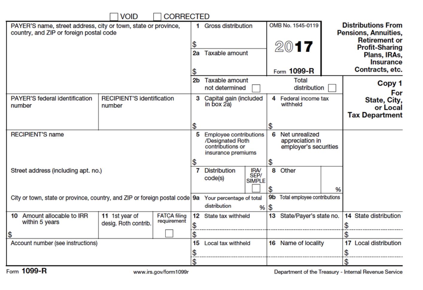 1099-R Life Insurance Surrender - Life Settlement Advisors